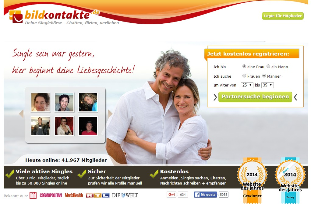 Dating-Website aus Deutschland