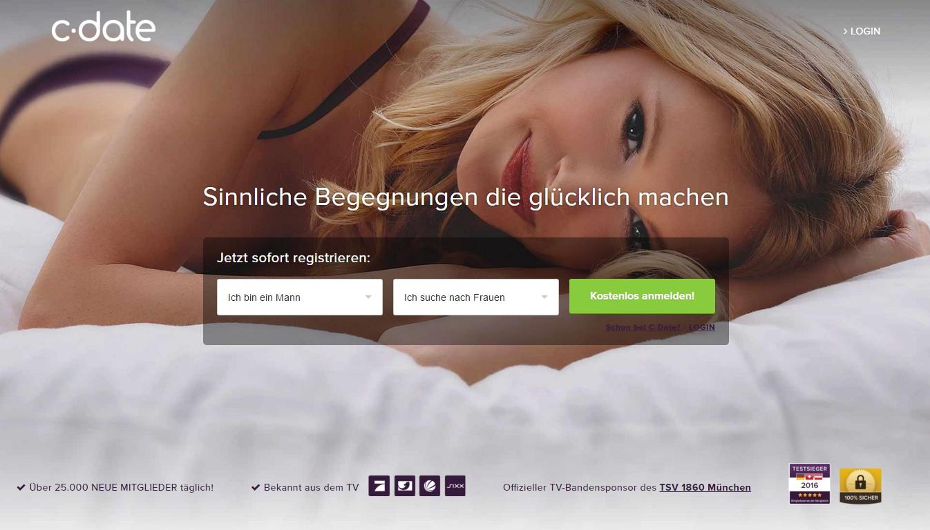 C-date deutschland login