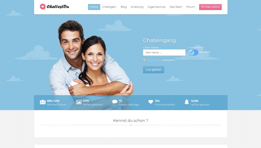 Dating und chat-raum online